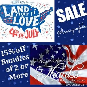🇺🇸🎊Independent Day💥SALE🎈Happy 4th Poshmark🎪